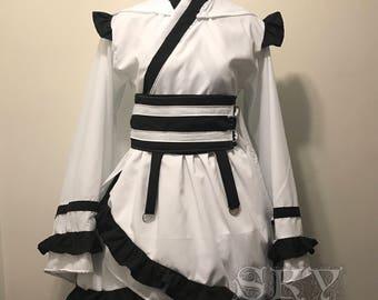 Mikaela Kimono Dress