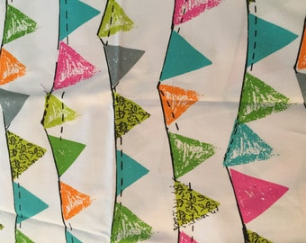 One Yard of Bunting Fabric