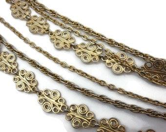 Multi Strand Necklace - Mid Century Costume Jewelry