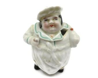 Figural Mustard Pot - Baker, Vintage Kitchen