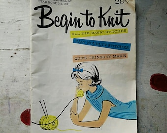 Vintage Knitting Booklet