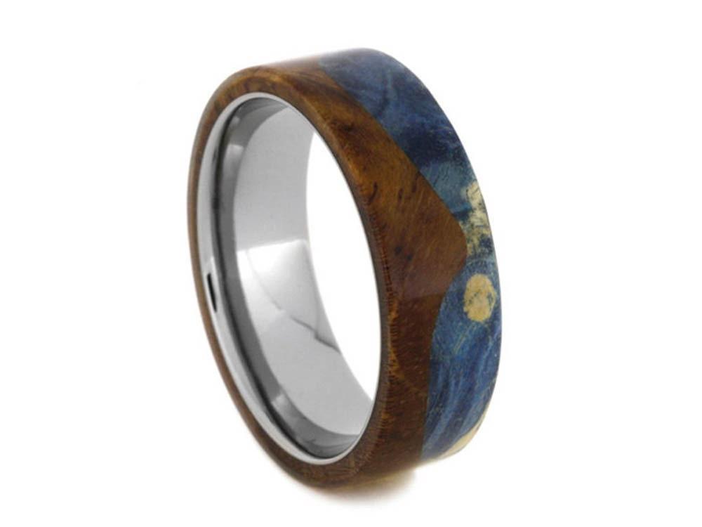 Titanium Teak Wood Wedding Band – Desenhos Para Colorir