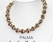 PALMA Spiral Beadwork Necklace Pdf tutorial instructions for personal use only