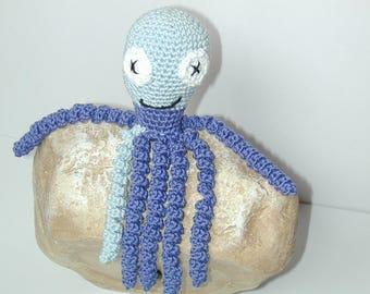 Crochet Octopus amagurumi preemie toy