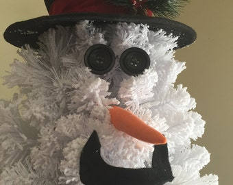 8 inch Carrot nose for snowman Christmas tree: crafting soft sculpture, snowman wreaths