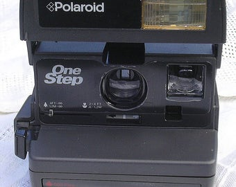 Vintage Working Polaroid One Step Instant Film Camera for Impossible Project 600 Film