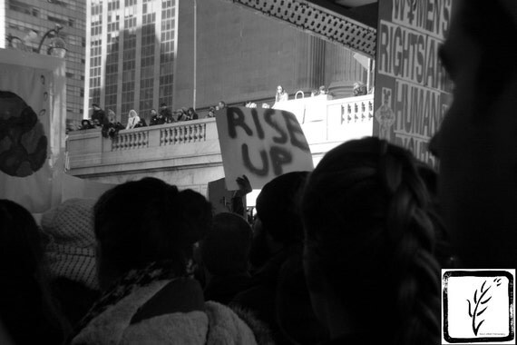 B&W Photograph, #nastywomen, #whyImarch, #riseup, haiku, fine art, photo print, wall art, home decor, protest, resist