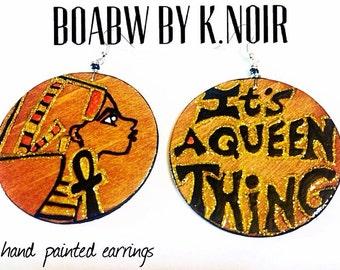 It's a Queen Thing Earrings
