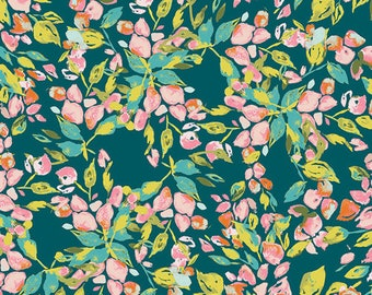 Bougainvillea Evergreen - Sage - Bari J. - Art Gallery Fabric - 100% Quilters Cotton Available in Yards, Half Yards and FQ's SGE-14452