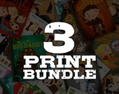 ON SALE 3 Print Bundle