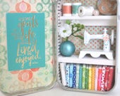 Tiny Tin Sewing Room ~ In Between Goals...