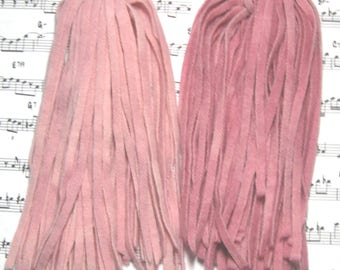 Rug Hooking Wool Strips Old French Rose Gradations Number 6 Dorr Wool Hand Dyed New