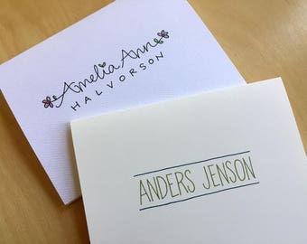 Personalized Graduation Stationery: Custom Notecards, Thank You Notes