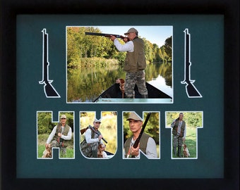 Hunting Custom Photo Collage 11x14 (mat only)