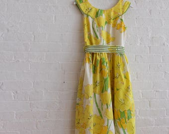 Floral Tea Dress  { Hallo Vera   } size 6