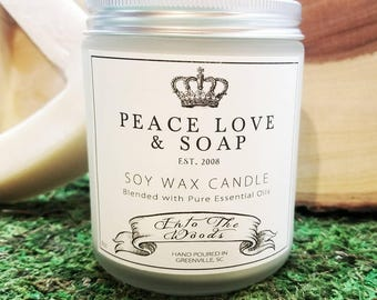 Into the Woods Soy Wax Candle