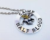 Camp Halfblood Percy Jackson Unicorn Pendant Necklace