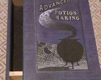 Advanced Potion Making Jewelry Box - Book Jewelry Box - Advanced Potion Making Book Box - Harry Potter Book Box - Advanced Potion Making Box