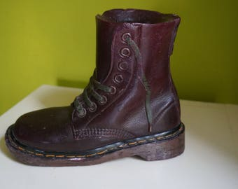 rare Dr Martens boot candle