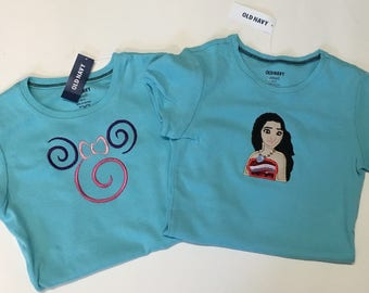 Sale! Moana girls tshirt and cami