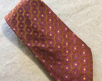 Vintage Robert Talbott Best of Class Nordstrom Mens Necktie Tie Cravat Wide