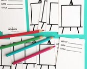 Fill in the Blank Easel Cards (stack of 20)