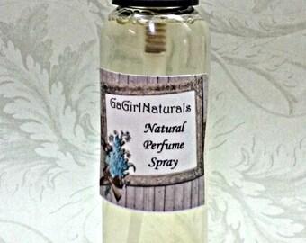 Fresh Cut Roses Natural Perfume Spray, Spray Perfume, Body Spray, Perfume, 2 Ounces