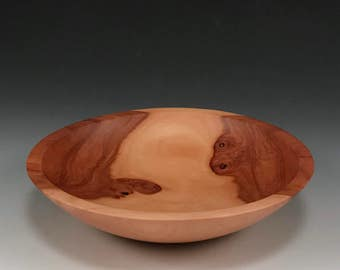 The Simpleton - Handmade Wood Bowl - Apple Wood