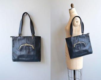 Bonnie Cashin Coach bag | vintage 1970s Coach shoulder bag | Bonnie Cashin 70s Coach shopper bag