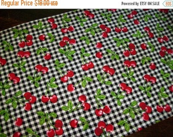 Gingham Table Runner Etsy