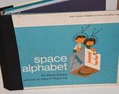 Baby Boy Memory Book--Space Alphabet