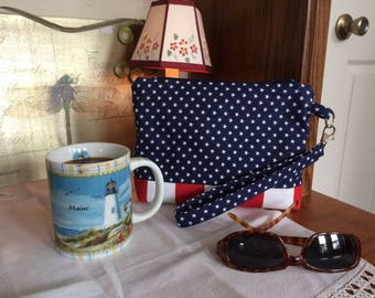 Fourth of July Wristlet