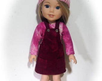 14.50 inch Doll Clothes will fit Dolls such as Wellie Wishers - Jumper Outfit