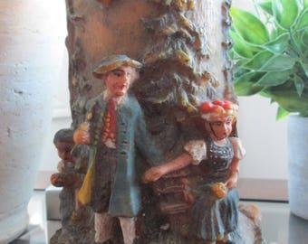 Gunter Kerzan Candle German Candle Hand Painted Carved Gunter Kerzan Candle Made in Germany - Gunter Kerzen.-DurhamDeals