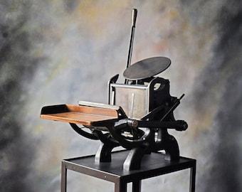 C&P Pilot - New Style Printing Press - Letterpress