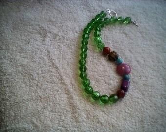 Emerald envy with jewel tones.