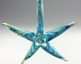 Sea Star - Aqua/green