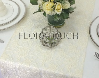 Ivory Lace Table Runner Florence Lace Wedding Table Runner