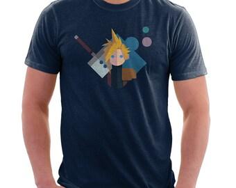 Final Fantasy 7 Shirt - Cloud Strife Shirt | Final Fantasy VII | Soldier | Video Game T-shirt | Geek Tshirt | final fantasy tee | geek