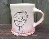 Mug With Boy and Robot