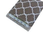 Birth Control Pill Holder, Pill Case, Classy Khaki Tile Print for When you Pop yo Pill