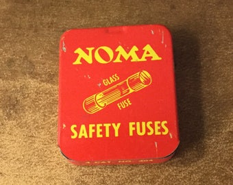 NOMA Safety Fuses Tin Plus 3 Fuses 5 Amps 140V Use with NOMA Safety Plug Indoor Christmas Tree Lights