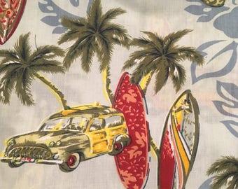 Woody! Hawaiian Print fabric