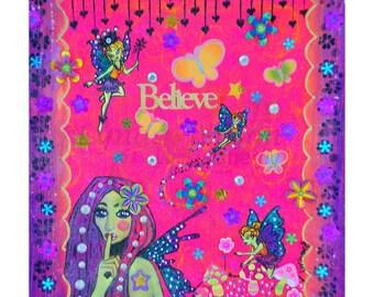 Believe- Mixed media Print