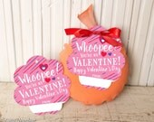 Printable Whoopee Cushion Valentine's Day Gifts WHOOPEE instant download gift tags chalkboard simple easy file funny valentines handout girl