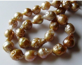 New Year SALE Natural Kasumi like Nucleated flameball pearl