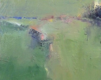 Small Box Painting 1164 - Original Oil Painting - 22.7 cm x 22.7 cm (app. 8.9 inch x 8.9 inch)