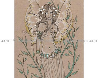 LIMITED EDITION Fairy 8.5x11 PRINT by Amy Brown