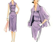 Re-issued 1951 Dress and Jacket - Vogue 9083 - New Sewing Pattern, Sizes 14, 16, 18, 20, 22, and 24