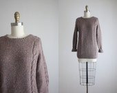 1970s cable knit pullover